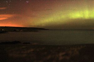 Northern Lights from Portsoy February 2014.