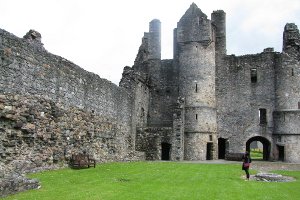Balvenie Castle near Dufftown Moray.