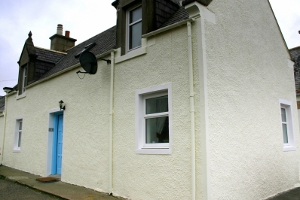 8 Low Shore Whitehills Holiday Cottage Banff front view