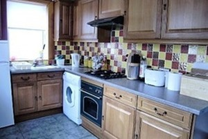 kitchen 8 Low Shore Holiday Cottage Banffshire.